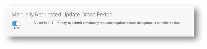 Set a Progress Update Grace Period – Help Center